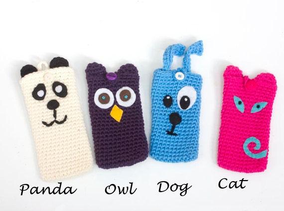 Häkeln Tier Handytasche Ostergeschenk Für Teenager Tier Etsy