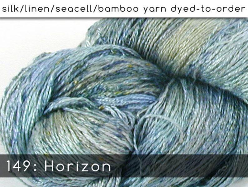 DtO 149: Horizon on Silk/Linen/Seacell/Bamboo Yarn Custom image 0