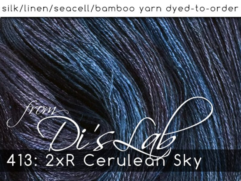 From the Lab  DtO 413: 2xR Cerulean Sky on image 0