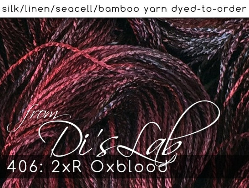 From the Lab  DtO 406: 2xR Oxblood on image 0