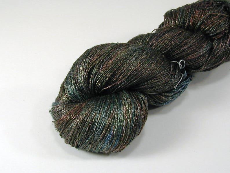 DtO 288 Huldra on SilkLinenSeacellBamboo Yarn Custom Dyed-to-Order
