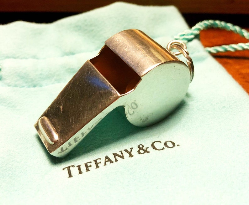 8760e1693b8b Tiffany   Co Vintage Sterling Silver Whistle works