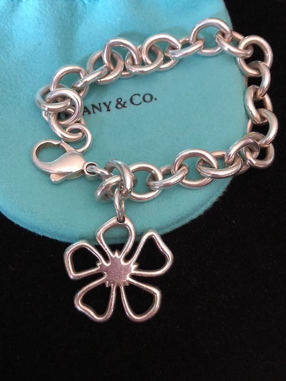 Tiffany & Co Vintage Stencil Daisy Bracelet