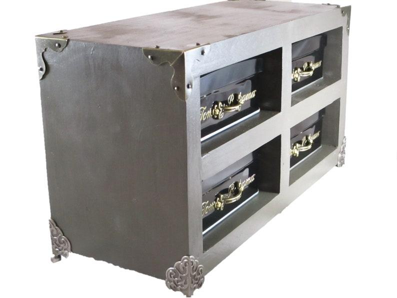 Jewelry Box Cigar Box Cabinet Treasure Box