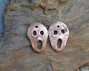 Copper Scary Melting face pair #789.