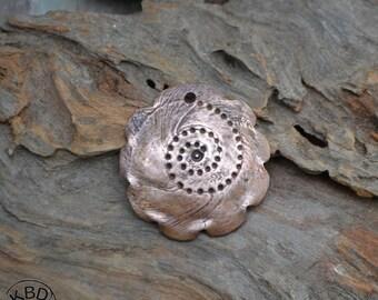 Copper Spiral Shell Focal #477.