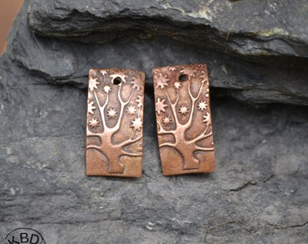 Tree of Life Rectangle, Copper pair #732