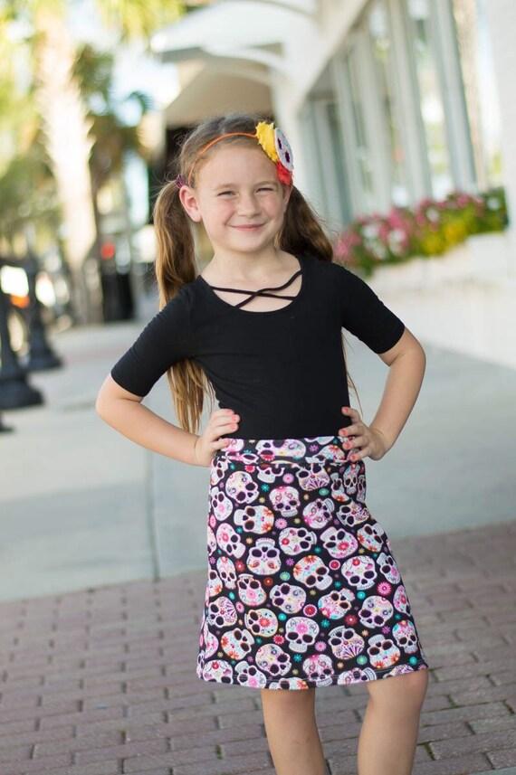 Sugar Skull Skirt