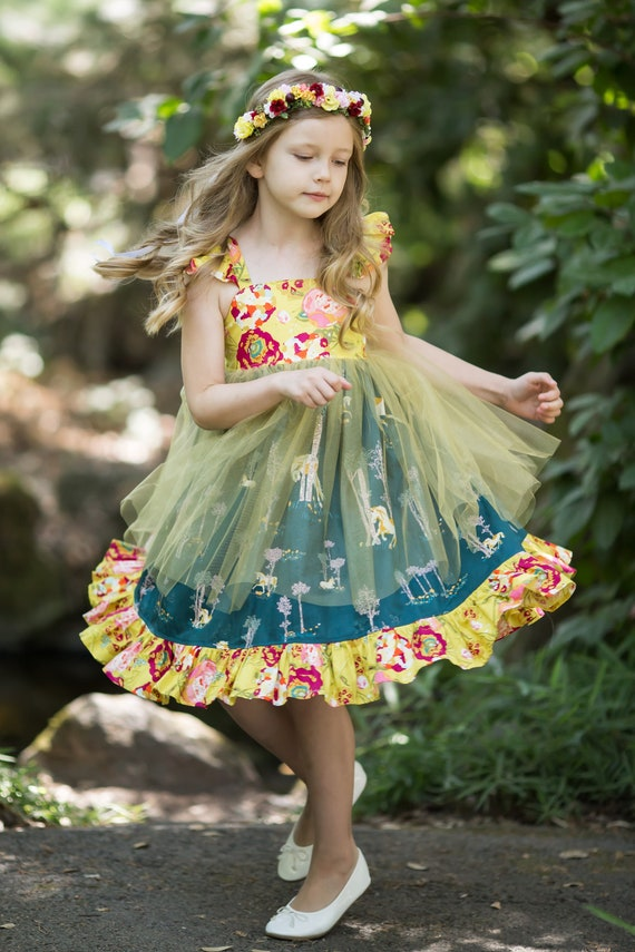 Girls Unicorn Dress