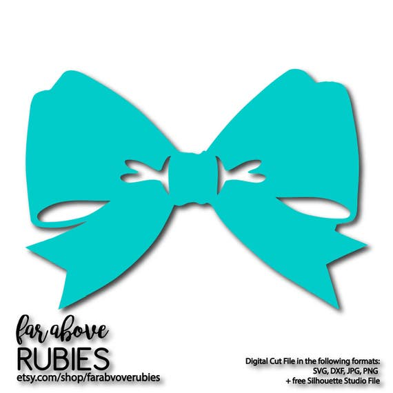 Classic Bow Tie Ribbon Svg Eps Dxf Png Jpg Digital Cut Etsy