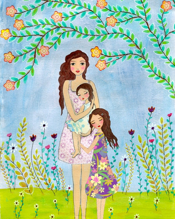 Мать и дочь картинки для детей, про анжелу
