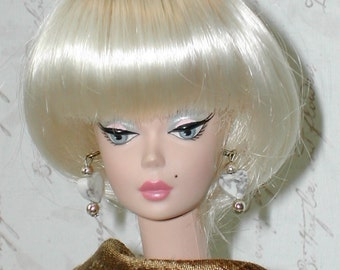 Barbie in a Classic Gold Silk Dress - Ltd Edition
