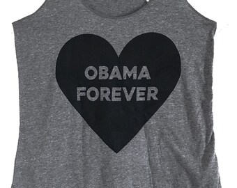 Obama Forever Tri-blend Tank Top - (Available in sizes S, M, L, XL)