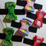 6 Custom Made Cat Bows