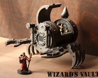 Apparatus of Kwalish miniature model, Dungeons and dragons sculpture, Magical item, Legendary Artifact, Role playing game mini,