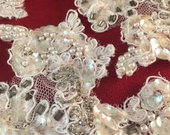 Lace Applique Embellishments Lot #03