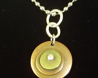mini disks pendant