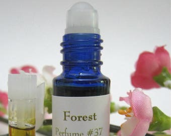 Forest Natural Perfume ~ Essential Oils, Absolutes, Jojoba Oil & Fractionated Coconut Oil
