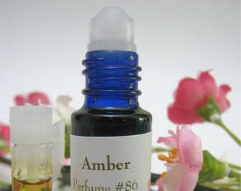 Amber Natural Perfume ! Essential Oils, Absolutes, Natural Isolates, Jojoba Oil, Fractionated Coconut Oil