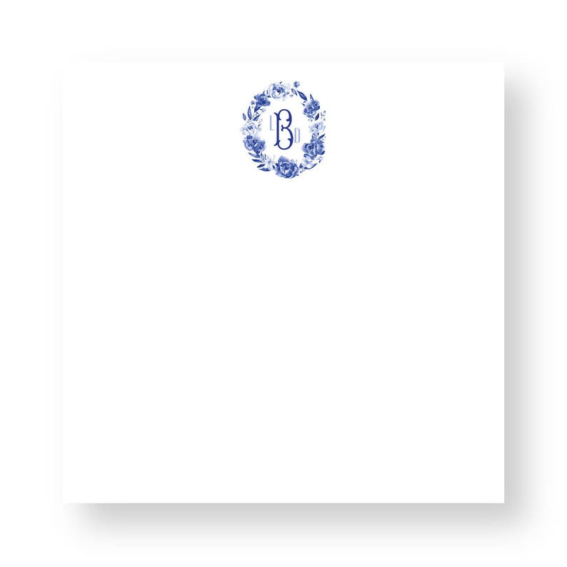 Couture Crest Notepad C-13