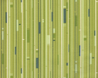 Free Spirit Fabrics Heather Bailey Nicey Jane Welcome Road in Olive - Half Yard