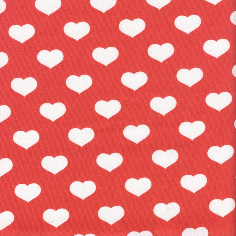 Paintbrush Studio Scandinavian Christmas Hearts in Red and image 0