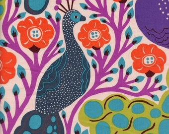 Sold by the Half Yard - Monika Forsberg Homeward Proud in Tropical by Free Spirit Fabrics