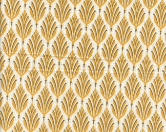 Sold by the Half Yard - Cider Leaf in Mulled Cider by BasicGrey for Moda