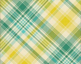 Free Spirit Fabrics Joel Dewberry Notting Hill Tartan in Aquamarine -  Half Yard