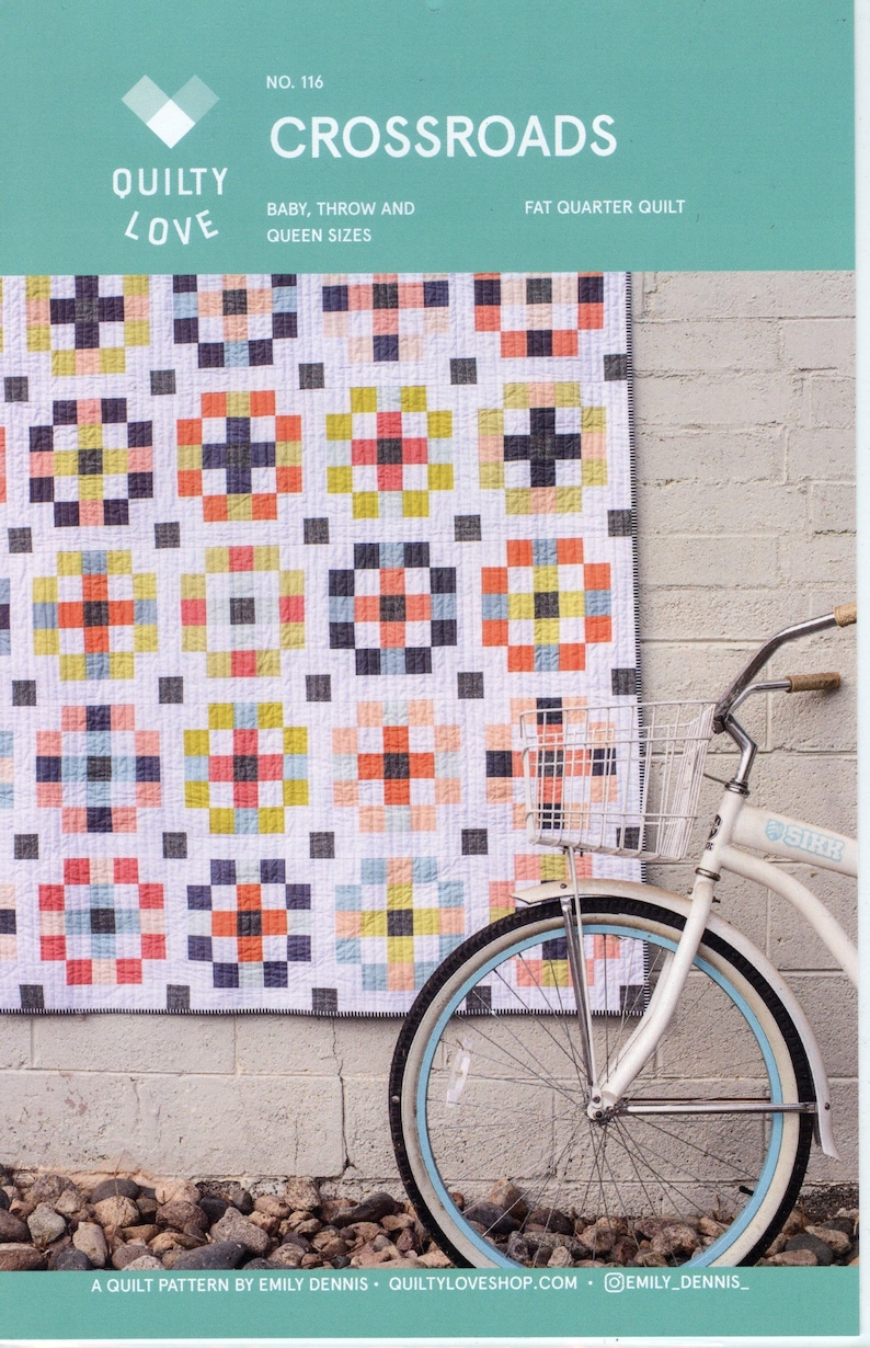Quilty Love Crossroads Quilt Pattern image 0