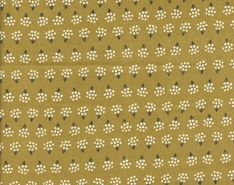 Sold by the Half Yard - Gingiber Dwell In Possibility Mini Flowers in Umber by Moda Fabrics