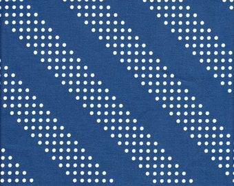 Sold by the Half Yard - Cotton + Steel Basics Dottie in Jean Jacket
