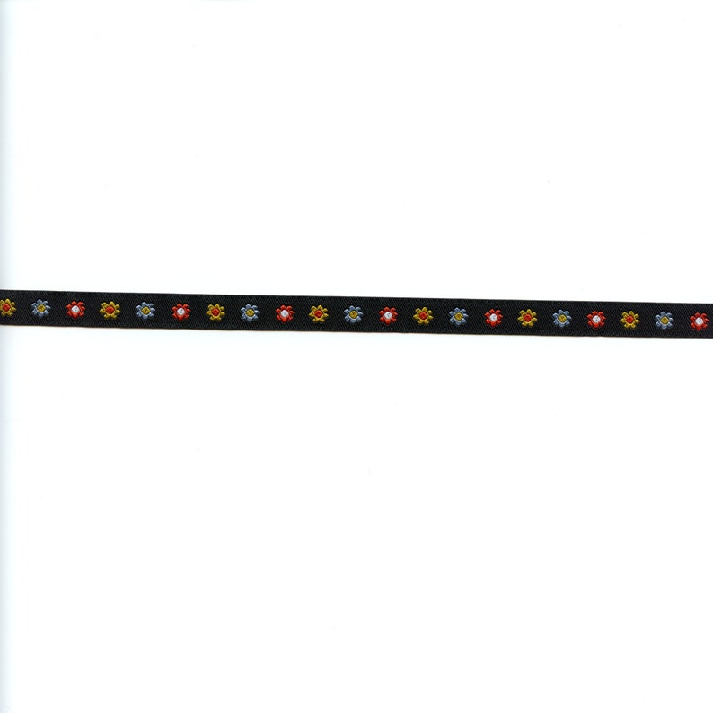 Renaissance Ribbons Dinara Mirtalipova Tiny Flowers in Black  image 0