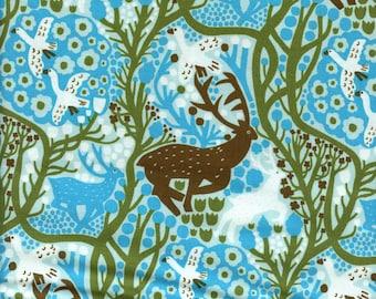 Sold by the Half Yard - Monika Forsberg Endless Summer Onward in Sky by Free Spirit Fabrics
