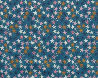 Cotton + Steel Rashida Coleman-Hale Papercuts Starstruck in Teal - Half Yard