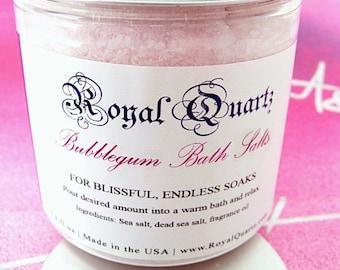 Bubblegum Bath Salts . Uplifting jovial scent, a great soak . Birthday Day Gift . Fall Autumn 2021