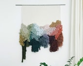 the light within   handwoven statement wallhanging