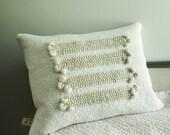 niveus two - handwoven cushion