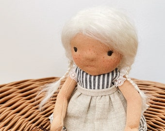 "handmade waldorf doll ""ilse"""