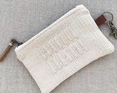 handwoven pouch #4