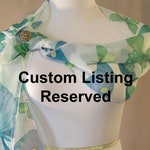 RESERVED for Michele Only - Custom Sequin Scarf - Tri-Color