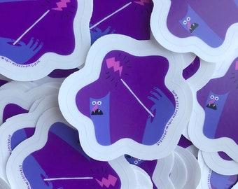 The Amazing Idea Wizard Sticker