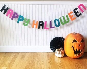 Halloween banner, Halloween decoration, halloween party decoration, halloween party banner