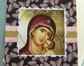 Panagia Orthodox Card