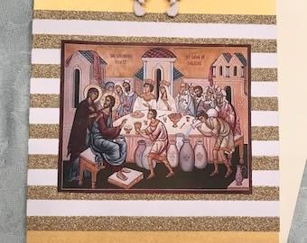 Orthodox Wedding Card