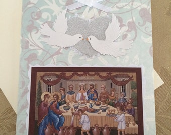 Wedding Orthodox Greeting Card