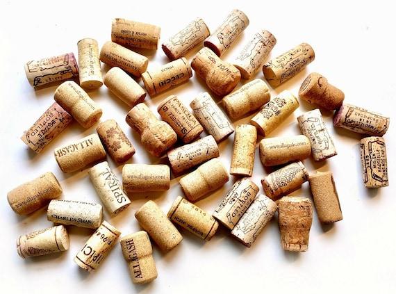 Over 43 Wine Corks, Wine Cork Lot Supply, Used Wine Corks, Craft Wine Corks, Wine Cork Lot, Wine Corks for Crafts, 43Plus  Real Asst Corks