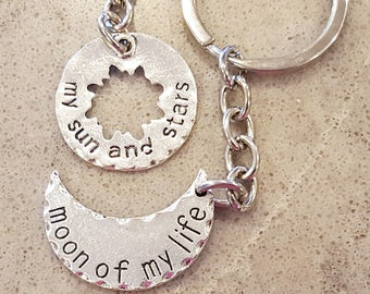 Moon of my Life Details about  /My Sun and Stars Game of Thrones Keychains or Pendants