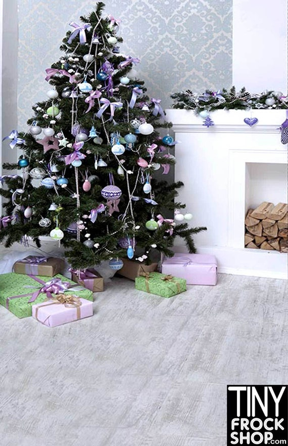 Shabby Chic Christmas Standard ST-580 Barbie Photography Background