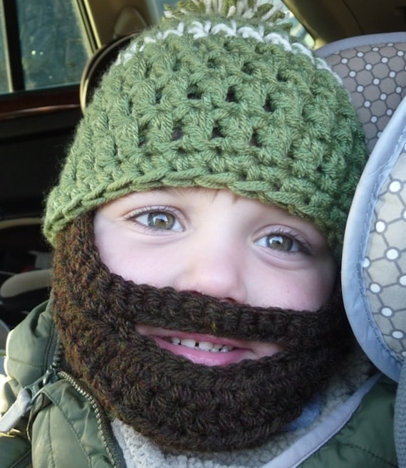 Instant Download Digital File Pattern Crochet Pattern Beard Etsy